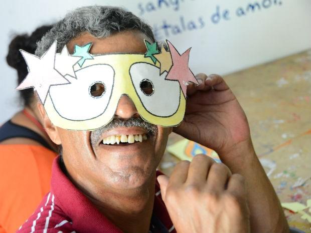 Realização do baile foi reivindicação dos próprios pacientes dos Caps (Foto: Assis Cavalcante)
