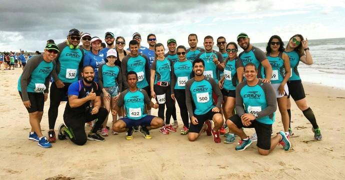 Equipe Crazy Runners na Corrida das Praias (Foto: Divulgação / Crazy Runners)