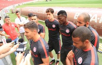 Jogadores do Inter aceitam queda caso Brasileirão não tenha 38ª rodada