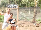 Igor Rickli inaugura galinheiro com nome do filho e compartilha foto
