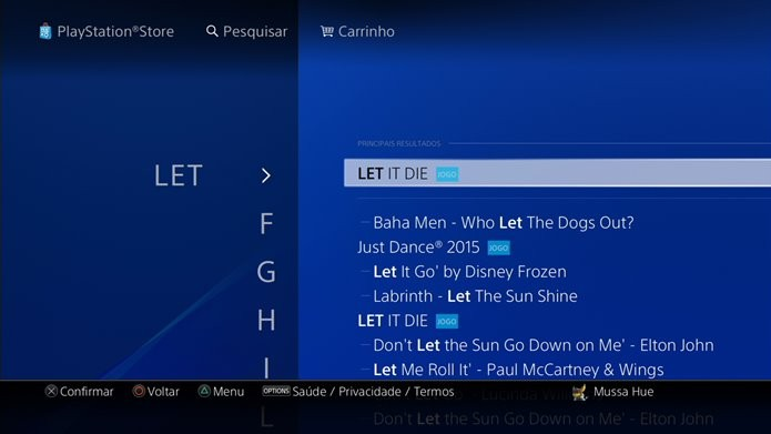 Gratuito, Let It Die está disponível exclusivamente no PS4 (Foto: Reprodução/Felipe Demartini)