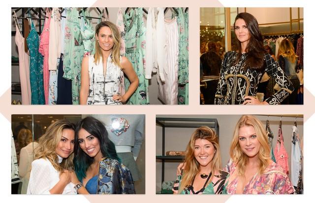 Carol Emmerick, Betina Schmidt, Daniella Sarahyba, Kelly Corrê, Jade Seba e Patricia Bonaldi (Foto: Monteiros Fotografia)