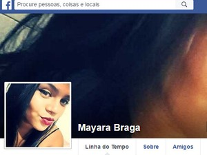Mayara Braga foi morta com tiro na cabeça em Cosmópolis (Foto: Reprodução/Facebook)
