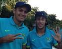 "Prata em 2012 com Neymar, Rômulo cita liderança: ""Amadureceu muito"""