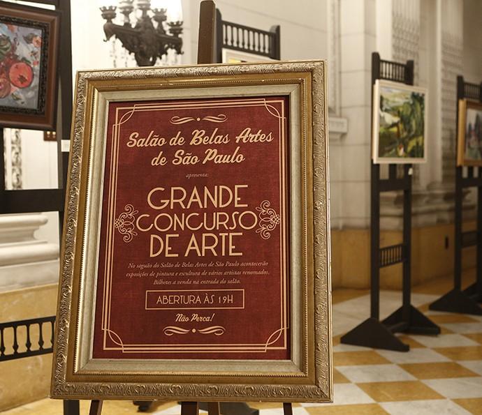 Salão de Belas Artes de São Paulo (Foto: Inácio Moraes/Gshow)