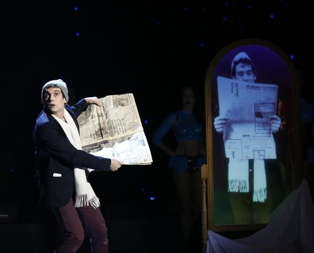 Ilusionista Xavier Mortimer é sucesso no mundo todo (Foto: Leonardo Arromba/Gshow)
