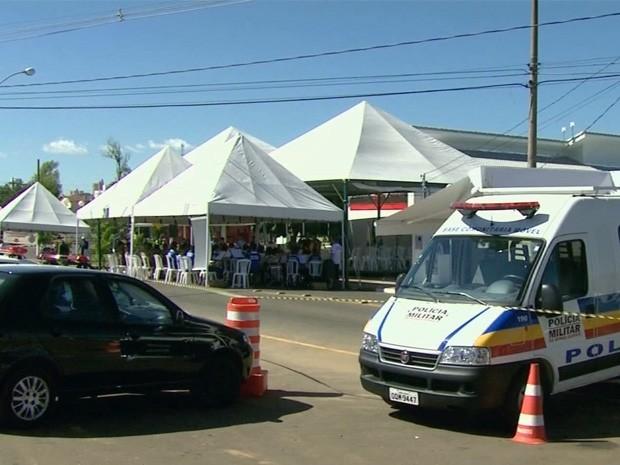 Área Integrada de Segurança Pública foi criada em São Sebastião do Paraíso (Foto: Luciano Tolentino / EPTV)