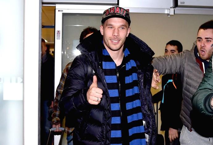 Podolski, Inter de Milão (Foto: Getty Images)