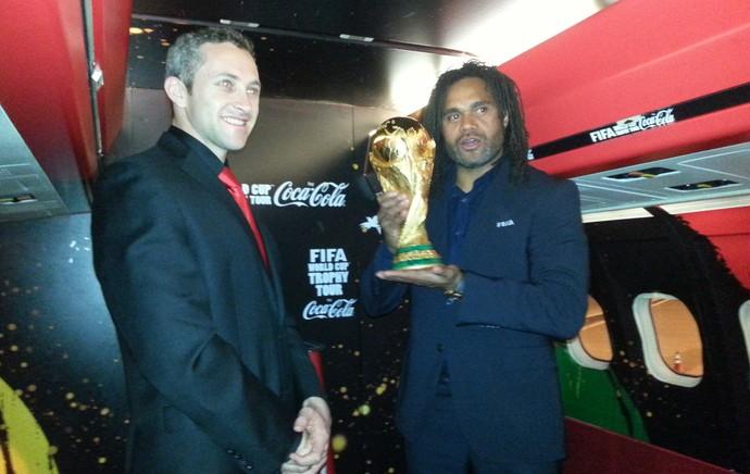 Tour da Taça Karembeu com Brad Ross (Foto: Rodrigo Faber)