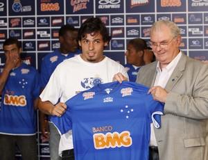 Ricardo Goulart, meia do Cruzeiro (Foto: Washington Alves / Vipcomm)