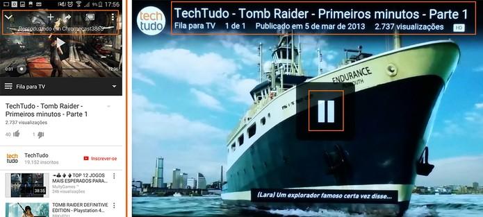 Vídeo poderá ser executado e pausado pelo controle remoto da TV automaticamente (Foto: Reprodução/Barbara Mannara)