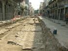 Obras do VLT revelam riquezas arqueológicas no Centro do Rio