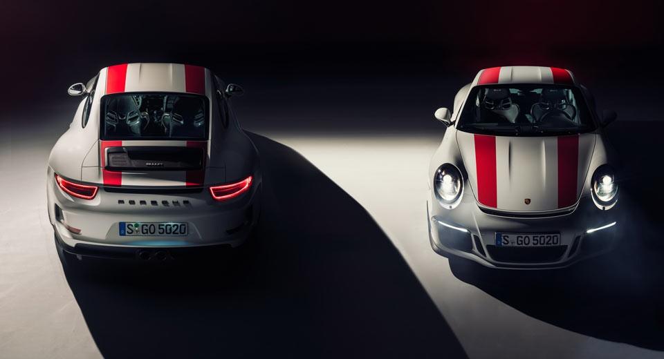 Um modelo 'acessível' do Porsche 911R pode vir por aí (Foto: Divulgação)