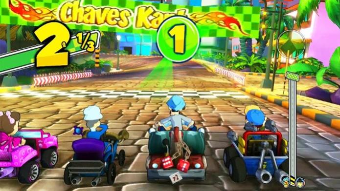 Chaves Kart (Foto: Divulgação/Slang Games)