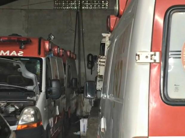 Deputado diz que quatro viaturas estão quebradas em Cruzeiro do Sul (Foto: Luiz Gonzaga/Arquivo pessoal)