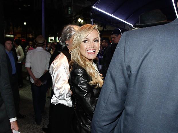 Eliana em evento em São Paulo (Foto: Amauri Nehn/ Foto Rio News)