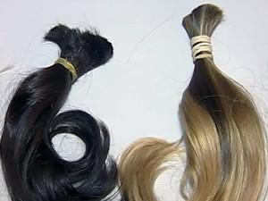 Campanha de doação de cabelos mobiliza mulheres em Uberaba (Foto: Reprodução/TV Integração)