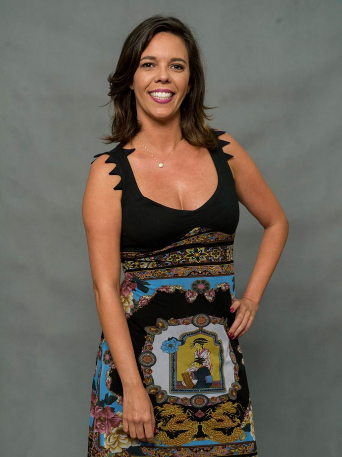 Flávia Reis, atriz do Zorra (Foto: Globo/Estevam Avellar)