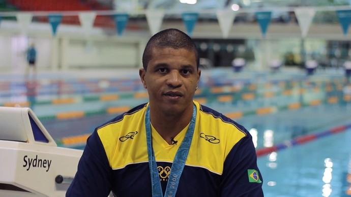 'Baladágua' traz história do nadador Edvaldo Valério (Foto: TV Bahia)