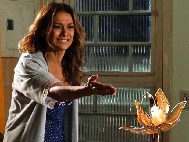 Lucimar se desespera com a revelação de Sheila e jura vingança (Foto: Salve Jorge/TV Globo)