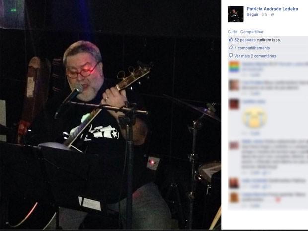 O músico Renado Ladeira, do Grupo Herva Doce, morreu em casa (Foto: Reprodução/ Facebook)