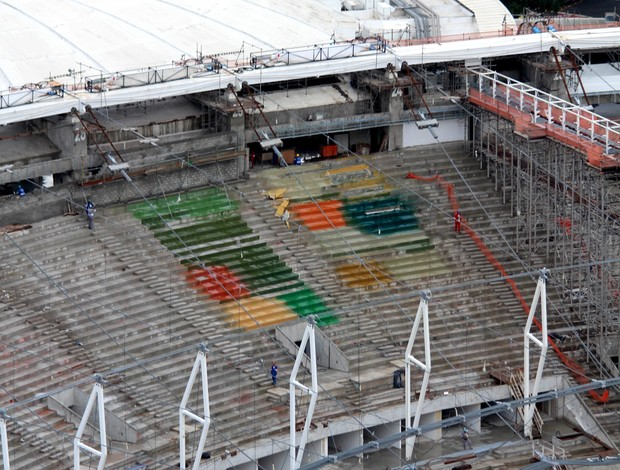 arquibancada estádio maracanã (Foto: Carlos Eduardo Cardoso / Agência O DIA / Agência Estado)