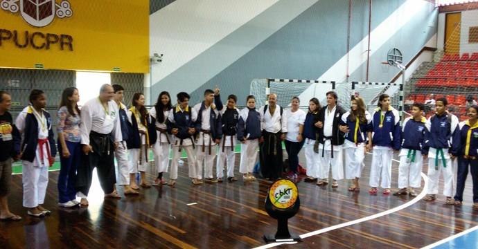 Brasileiro Karatê, Mato Grosso campeão, 2015 (Foto: Assessoria/FKEMT)
