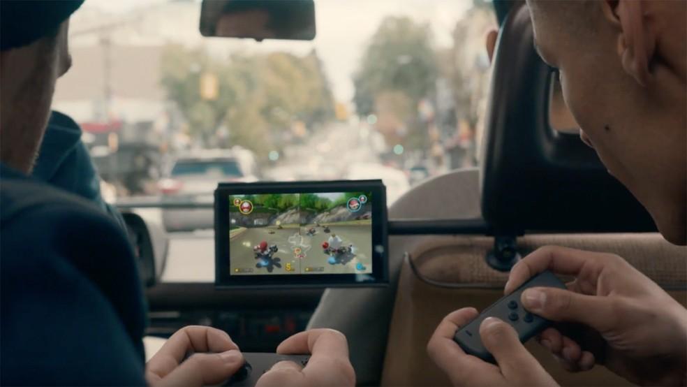 Nintendo Switch aposta no fator portabilidade (Foto: Reprodução/Nintendo)