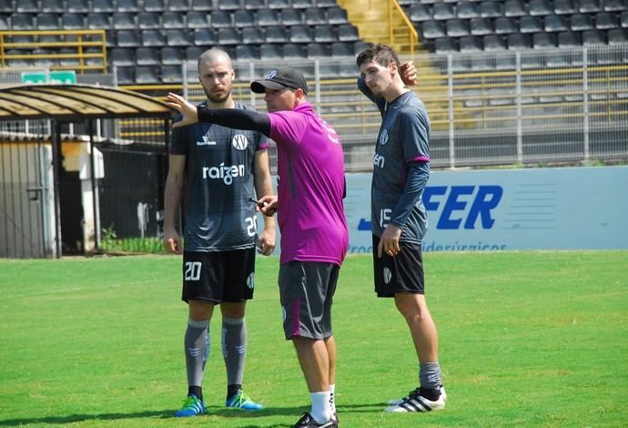 Cléber Gaúcho Técnico Treinador XV de Piracicaba Nhô Quim (Foto: Eduardo Castellari / XV de Piracicaba)