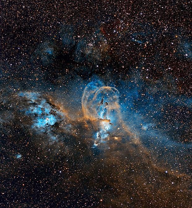 Concurso tem quatro categorias principais: Terra e Espaço, Nosso Sistema Solar, Espaço Profundo e Jovem Fotógrafo do Ano de Astronomia, para os menores de 16 anos (Foto: Rakibul Syed via BBC)