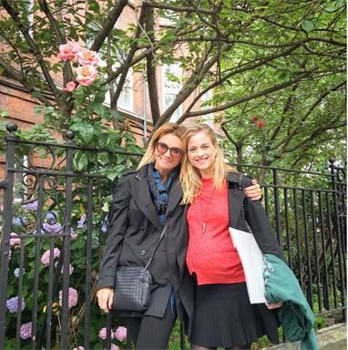 Luiza Valdetaro e a mãe (Foto: Reprodução/Instagram)