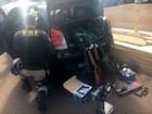 PRF apreende carro com armas de airsoft contrabandeadas do Paraguai