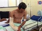 Corintiano baleado em troca de tiros com polícia vai para presídio na Bahia