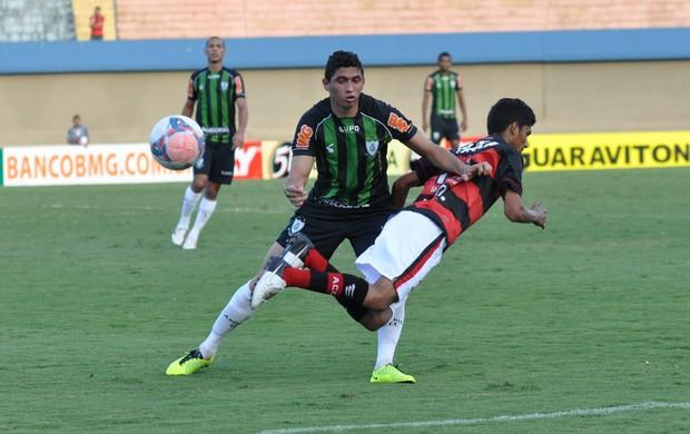 Jogo entre Atlético-GO e América-MG (Foto: Divulgação / América-MG)