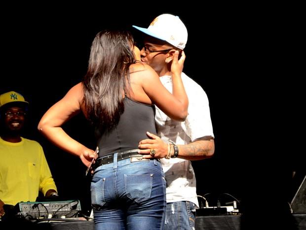 Nego do Borel em show em São Paulo (Foto: Araújo e Eduardo Martins/ Azzi Agency/ Divulgação)
