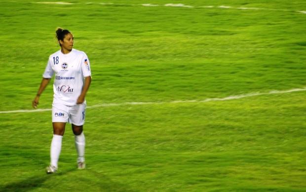 Cristiane São José Futebol Feminino (Foto: Arthur Costa/ Globoesporte.com)
