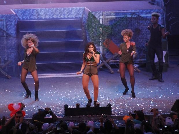 """Anitta no lançamento da turnê """"Show das Poderosas"""" (Foto: Léo Marinho/AgNews)"""