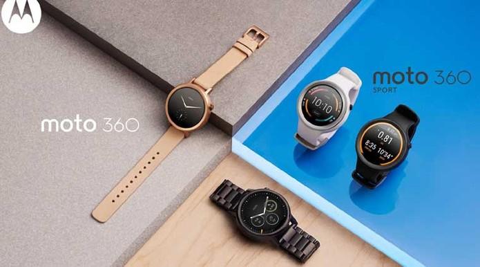 f0055719b2f Moto 360 está disponível em diferentes modelos com pulseiras específicas  (Foto  Divulgação Motorola