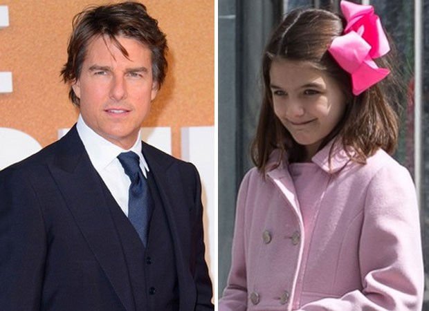Tom Cruise e Suri (Foto: AKM/GSI e The Grosby Group)