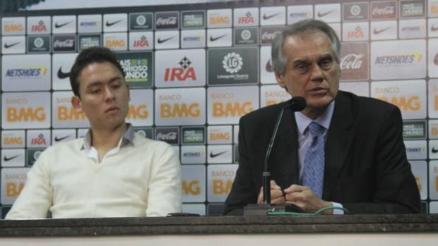 Keirrison e Vilson Ribeiro de Andrade - Coritiba (Foto: Gabriel Hamilko / Globoesporte.com)