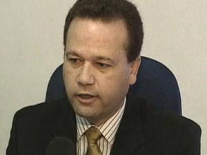Delegado Damasio Marino (Foto: Reprodução/TV Vanguarda)