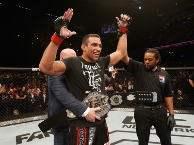 Fabricio Werdum x Mark Hunt UFC 180 (Foto: Josh Hedges/Zuffa LLC)