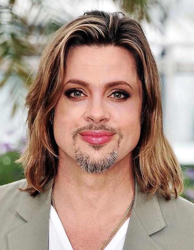 Brad Pitt e Angelina Jolie (Foto: Reprodução/The Sun)