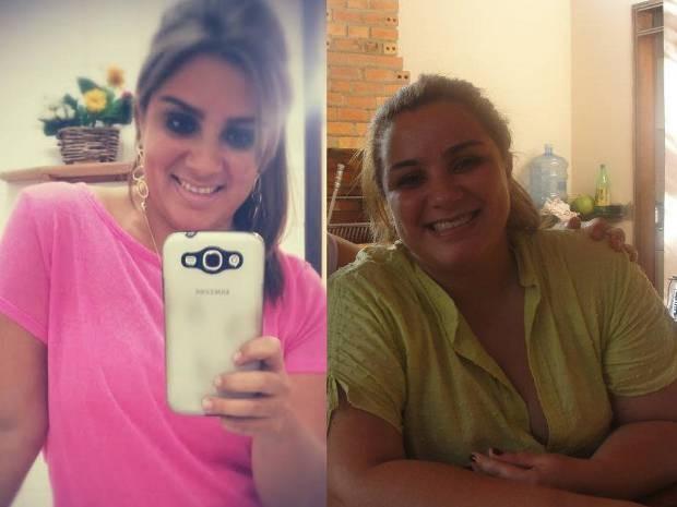 Ana Paula Sirotheau chegou a pesar 101 kg. Hoje, pesando 78, ela ainda quer perder mais 10. (Foto: Ana Paula Sirotheau/ Arquivo Pessoal )