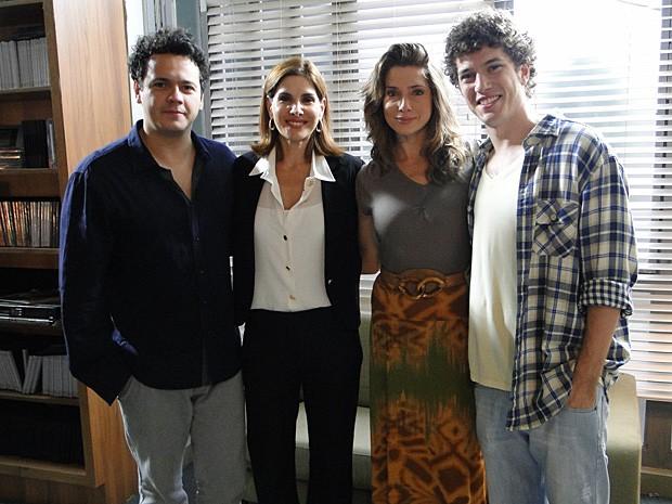 Caio Paduan contracenou com atores que sempre admirou (Foto: Malhação / TV Globo)