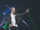 Justin Bieber lota show em SP, brinca com 1º de abril e diz: 'Melhor noite'