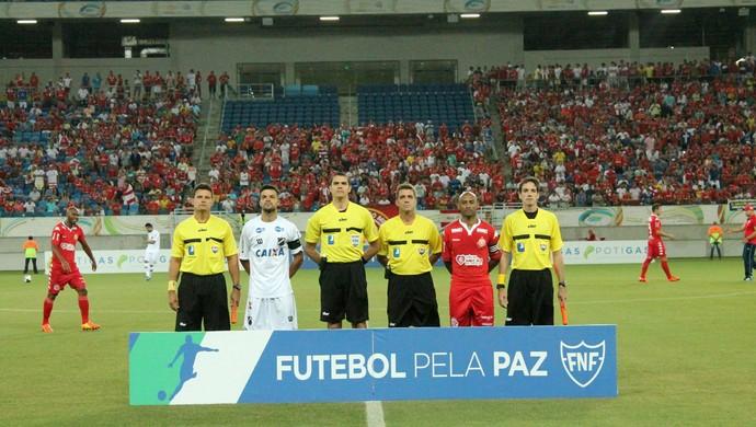 América-RN x ABC Campeonato Potiguar Arena das Dunas (Foto: Canindé Pereira/Divulgação)