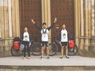 Em 15 dias, trio percorre Caminho de Santiago correndo e pedalando