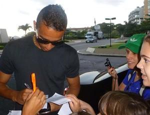 Danilo, Seleção Brasileira (Foto: Marcelo Baltar / Globoesporte.com)