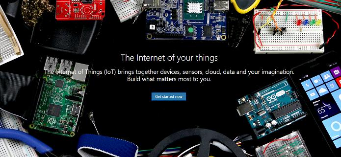 Windows 10 para a Internet das Coisas está em destaque na Microsoft (Foto: Reprodução/Aline Jesus)